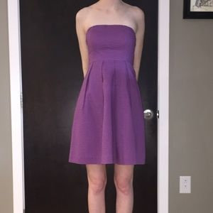 J.Crew Strapless Cotton Lorelei Dress w/ Pockets!